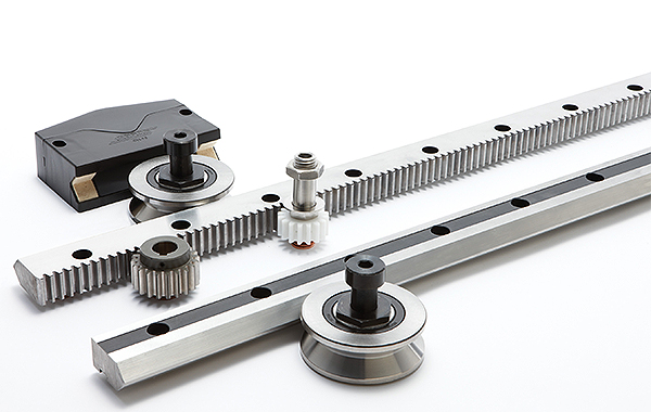 Designing (seventh-axis) linear motion tracks for robotic positioning